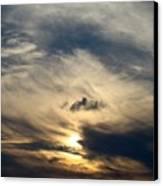 December Sky Canvas Print