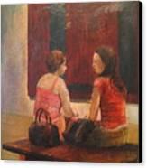 Decontructing The Rothko Canvas Print