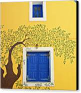 Decorated House Canvas Print by Meirion Matthias