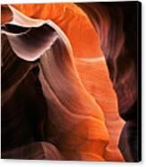 Deep Red Glow Canvas Print