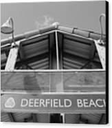 Deerfield Beach Canvas Print