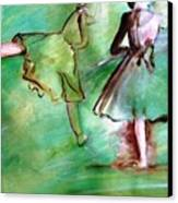 Degas' Dancers Canvas Print