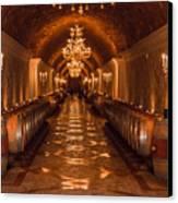 Del Dotto Wine Cellar Canvas Print by Scott Campbell