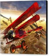 Der Rote Baron Canvas Print