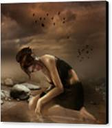 Desolation Canvas Print by Mary Hood