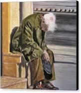 Despair Canvas Print by Maris Sherwood