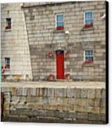 Detail Of Howth Lighthouse Canvas Print by Gabriela Insuratelu