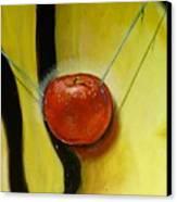 Detail Of The Temptation. Canvas Print