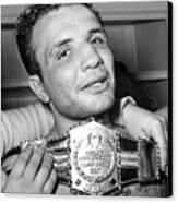 Detroit, Mich. Jake Lamotta Is Awarded Canvas Print