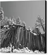 Devil's Postpile - Frozen Columns Of Lava Canvas Print by Christine Till