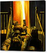 Devil's Stairway Canvas Print by Paul Walsh