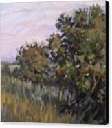 Dew On Dusk - Giverny France Canvas Print
