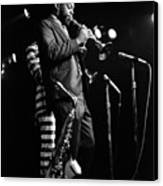 Dewey Redman On Musette Canvas Print