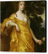 Diana Kirke-later Countess Of Oxford Canvas Print