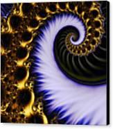 Digital Wave Canvas Print