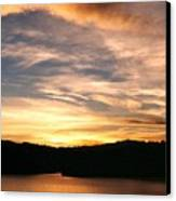 Dimming Of The Day Canvas Print by Kelly Luquer