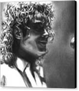 Dirty Diana Canvas Print by Carliss Mora