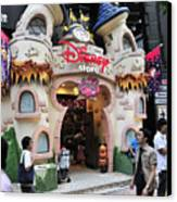 Disney Store Tokyo Japan Canvas Print by Andy Smy