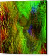 Dissolution Canvas Print by Linda Sannuti