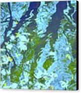 Disturbed Blues Canvas Print