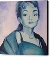 Diva I Maria Callas  Canvas Print