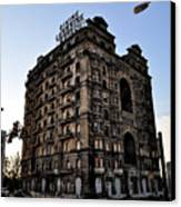 Divine Lorraine Hotel Canvas Print by Bill Cannon