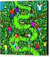 Divine Serpent Canvas Print by Dimitri Beaulieu