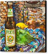 Dixie Love Canvas Print by Dianne Parks