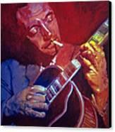 Django Sweet Lowdown Canvas Print