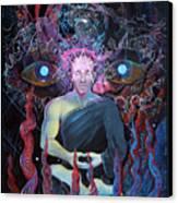Dmt - The Spirit Molecule Canvas Print by Steve Griffith