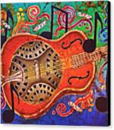 Dobro - Slide Guitar Canvas Print