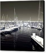 Dock In The Port Canvas Print