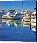 Dock O' The Bay Canvas Print
