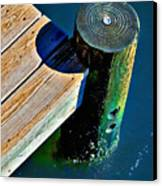 Dock Canvas Print by Robert Smith