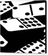Dominoes IIi Canvas Print by Tom Mc Nemar