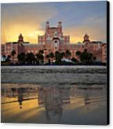 Don Cesar Reflection Canvas Print by David Lee Thompson