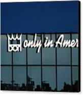 Don King Only In America Canvas Print