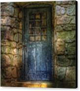 Door - A Rather Old Door Leading To Somewhere Canvas Print