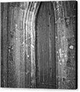 Door At Protestant Church Macroom Ireland Canvas Print