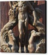 Door Knocker In Venice Canvas Print