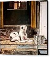 Doorkeep Canvas Print