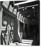 Doors And Shadows Canvas Print
