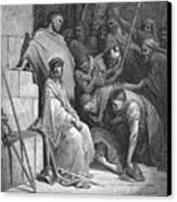 Dore: Christ Mocked Canvas Print by Granger