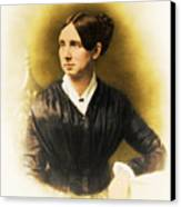 Dorothea Dix, American Reformer Canvas Print by Photo Researchers