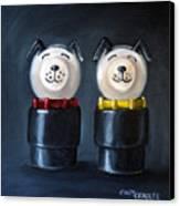 Double Dog Dare Canvas Print