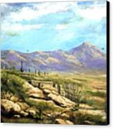 Down Sedona Way Canvas Print