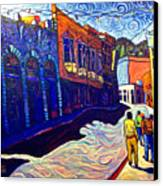 Downtown Bisbee Canvas Print