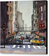 Downtown Chicago Canvas Print by Ryan Radke