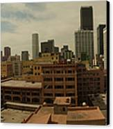 Downtown Los Angeles Panorama Canvas Print