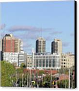 Downtown Ottawa In Distance Canvas Print by Richard Mitchell